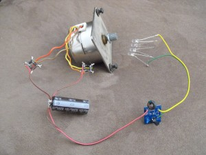 Joule Thief Stepper Generator Circuit