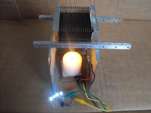 Joule Thief TEC Generator in Operation
