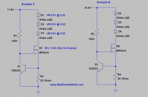Constant Current for LEDs