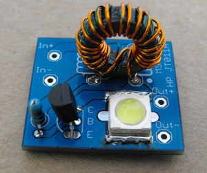 1 Watt Cree LED Joule Thief 