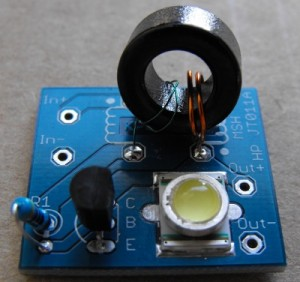 High Power Joule Thief 1 Watt Cree LED