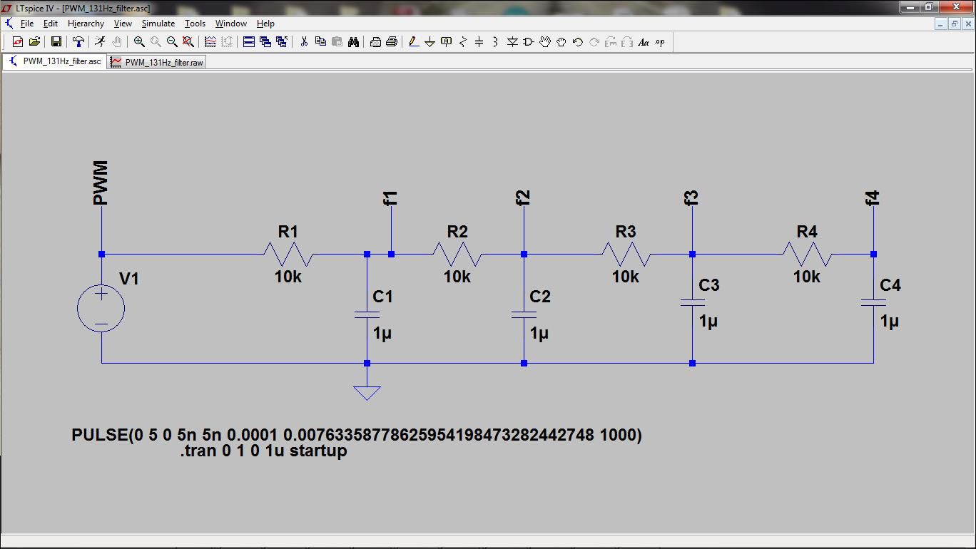 Filter PWM Down to a Usable DC Level